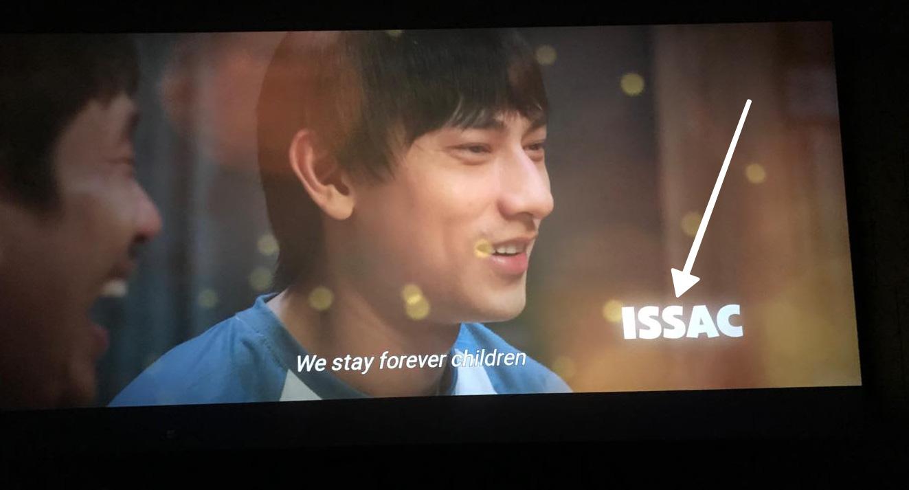 Ekip Anh Trai Yêu Quái viết sai tên diễn viên chính: Ủa Issac là ai ta? - Ảnh 1.