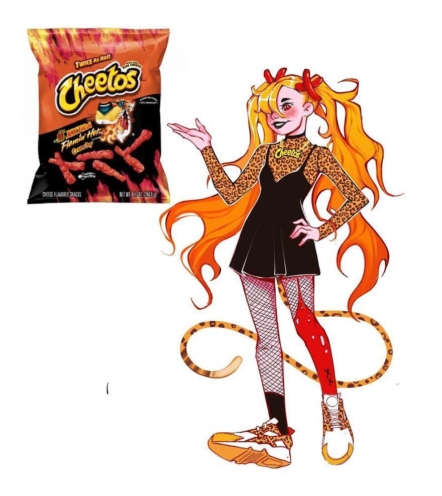 """Thử tưởng tượng các loại đồ ăn sẽ """"biến hình"""" thành nhân vật anime, đâu là cái tên giành ngôi cosplay xuất sắc nhất? - Ảnh 29."""