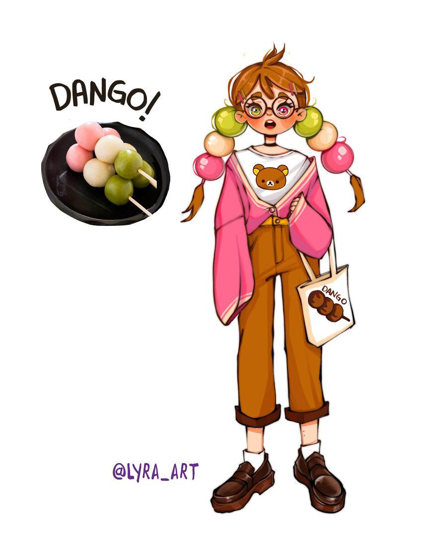 """Thử tưởng tượng các loại đồ ăn sẽ """"biến hình"""" thành nhân vật anime, đâu là cái tên giành ngôi cosplay xuất sắc nhất? - Ảnh 37."""