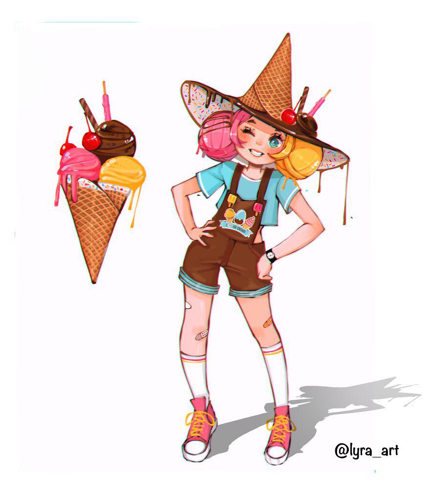 """Thử tưởng tượng các loại đồ ăn sẽ """"biến hình"""" thành nhân vật anime, đâu là cái tên giành ngôi cosplay xuất sắc nhất? - Ảnh 11."""