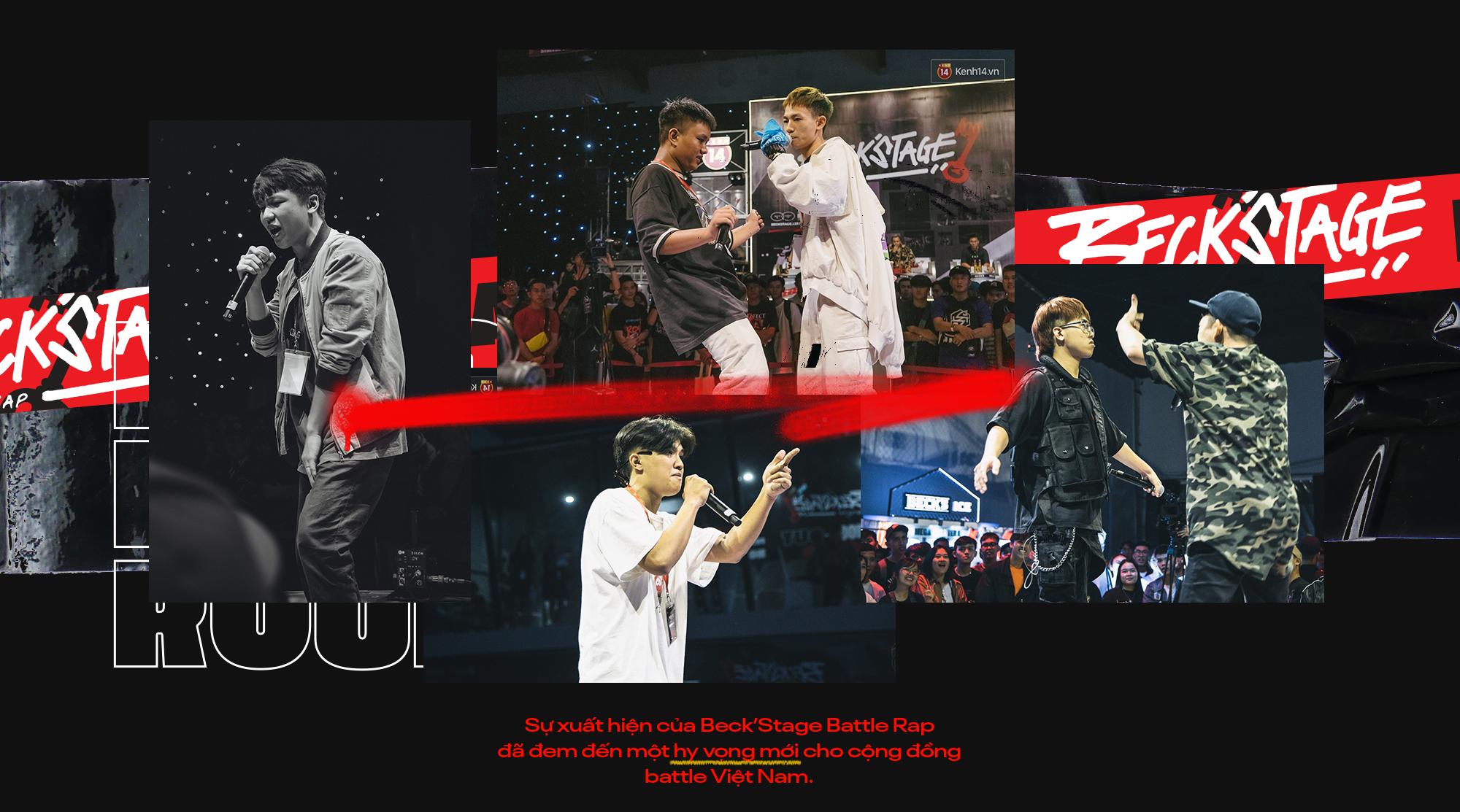 """Beck'Stage Battle Rap: Giải đấu khủng nhất của rap Việt Nam và lời khẳng định """"We are Striver"""" - Ảnh 7."""