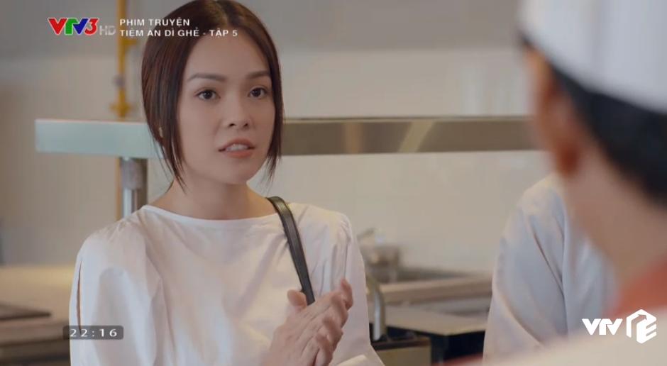 Tiệm Ăn Dì Ghẻ tập 5: Chồng ép bán thân vì hợp đồng nghìn đô, Thiên Kim đau đớn xin làm vợ chứ không làm gái - Ảnh 6.