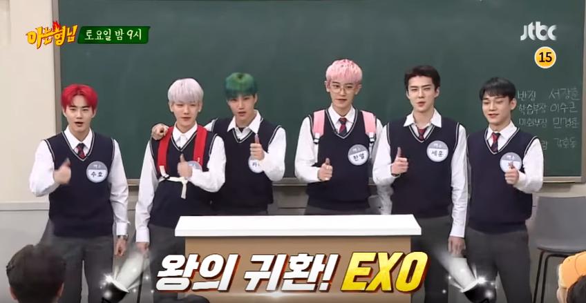 6 thành viên EXO