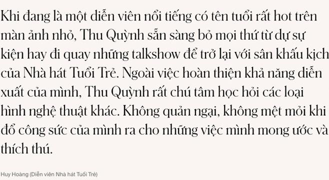Thu Quỳnh - Từ người mẹ đơn thân bị phản bội đến nữ diễn viên xuất sắc của màn ảnh Việt - Ảnh 14.