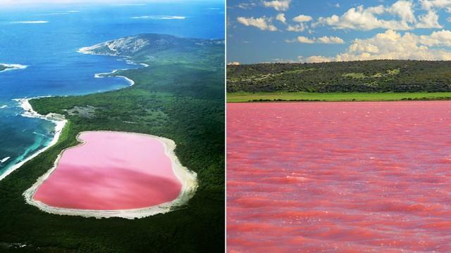 Chiếc hồ xinh như cổ tích tại Úc mà chẳng ai dám bơi, và đây là sự thật đằng sau nó - Ảnh 1.