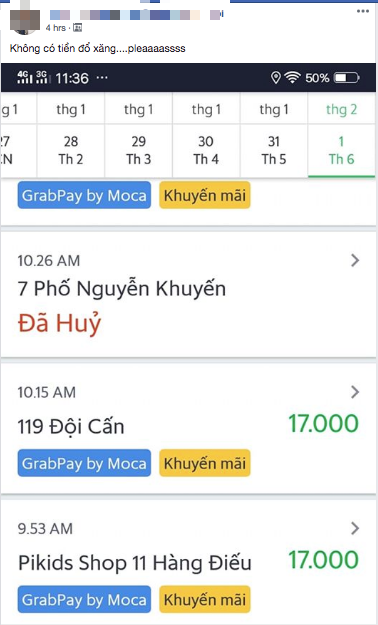 Grab the headache for Tet Days: Continuously canceled flights, book a car with promotional code to get a very harsh response from the driver - Photo 6.