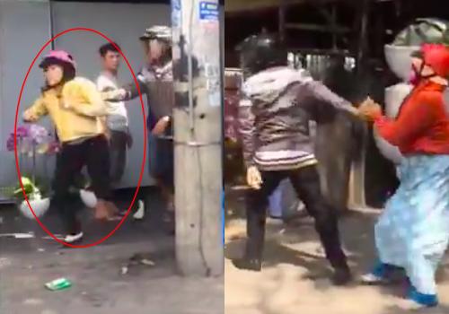 Chồng một mực che chắn cho nhân tình chạy trốn sau khi bị vợ bắt quả tang chở nhau trên phố trong chiều 27 Tết - Ảnh 1.