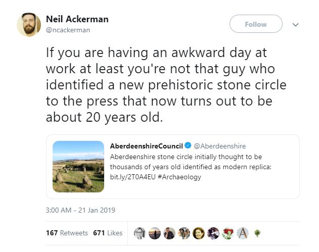 Cú lừa đầu năm: Tưởng có niên đại 4.000 năm, hóa ra vòng đá này mới chỉ... 20 tuổi - Ảnh 3.