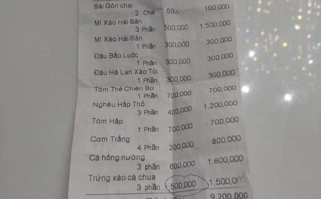 Nghi vấn đĩa trứng xào cà chua giá 500.000 đồng: Chủ cũ nhà hàng hé lộ thông tin bất ngờ - Ảnh 1.