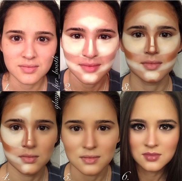 Chùm ảnh: Các nữ sinh từ vịt hoá thiên nga nhờ make up, ai không biết trang điểm là thiệt thòi vô cùng lớn - Ảnh 5.