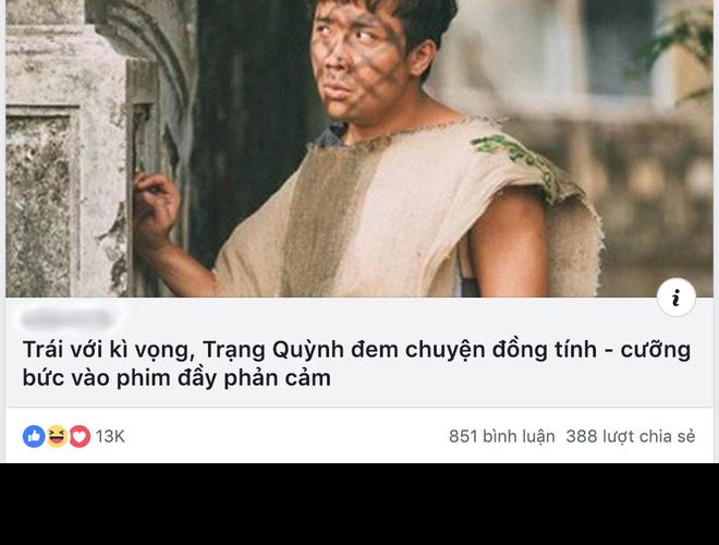Khán giả tranh cãi gay gắt về chi tiết đồng tính và cưỡng bức trong Trạng Quỳnh - Ảnh 3.