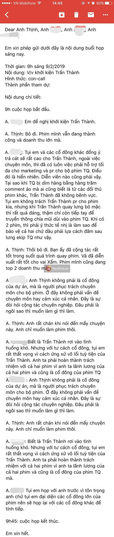 Rộ tin các cổ đông Trạng Quỳnh quyết khởi kiện Trấn Thành dù đạo diễn Đức Thịnh can ngăn - Ảnh 2.