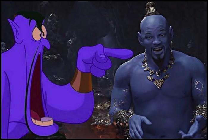 Thần Đèn Aladdin trở thành vựa muối để cư dân mạng chế ảnh nhờ tạo hình quá tệ - Ảnh 2.