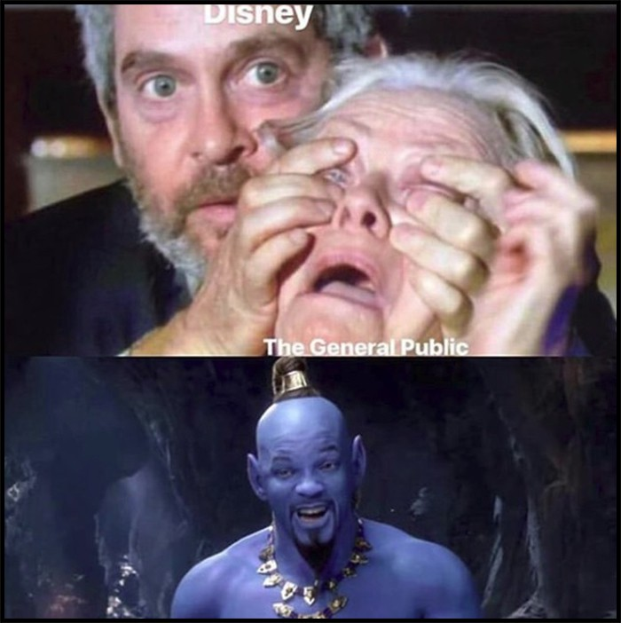 Thần Đèn Aladdin trở thành vựa muối để cư dân mạng chế ảnh nhờ tạo hình quá tệ - Ảnh 5.