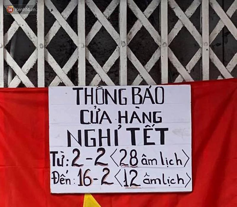 Hết Tết rồi mà vẫn còn nhiều quán xá ở Hà Nội chưa mở bán trở lại, có nơi nghỉ đến tận đầu tháng 3 - Ảnh 33.