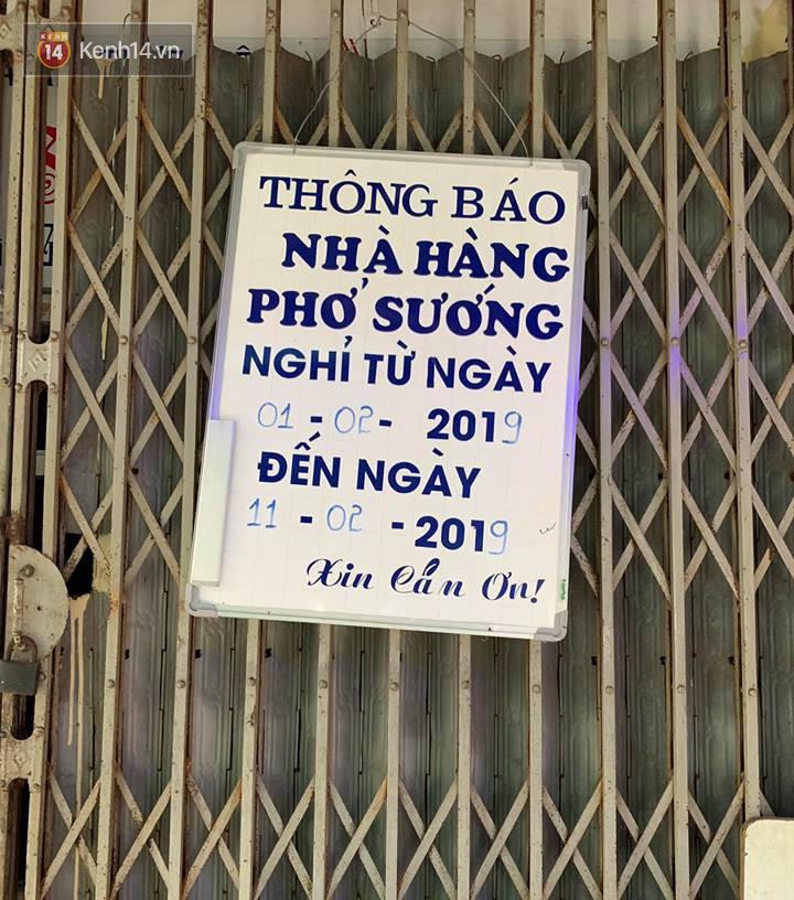 Hết Tết rồi mà vẫn còn nhiều quán xá ở Hà Nội chưa mở bán trở lại, có nơi nghỉ đến tận đầu tháng 3 - Ảnh 21.