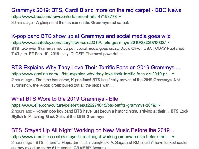 Cả thế giới đang phát cuồng vì BTS tại thảm đỏ Grammy 2019: Siêu bảnh, đẳng cấp, bắn tiếng Anh đầy tự tin - Ảnh 9.