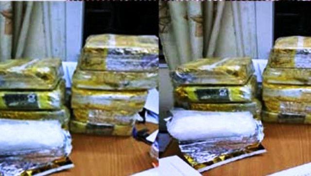 """Bắt quả tang kẻ """"vác"""" 10kg ma túy đá từ Lào - Việt Nam lấy 200 triệu tiền công - Ảnh 2."""