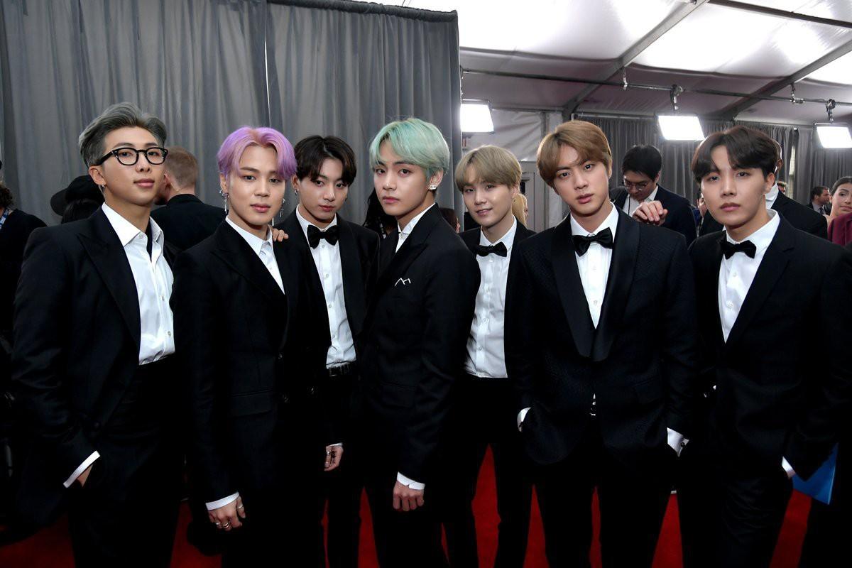 Cả thế giới đang phát cuồng vì BTS tại thảm đỏ Grammy 2019: Siêu bảnh, đẳng cấp, bắn tiếng Anh đầy tự tin - Ảnh 4.