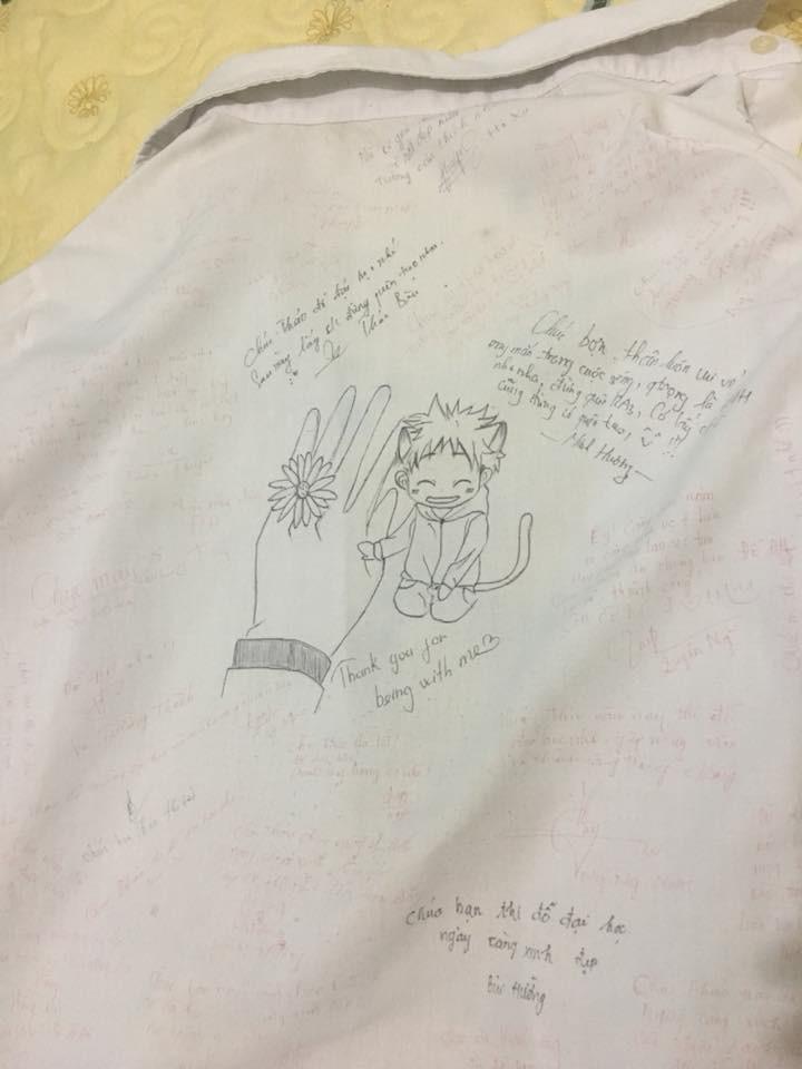 Vô tình tìm thấy chiếc áo đồng phục cũ, cậu bạn chia sẻ câu chuyện buồn của lớp mình khiến ai cũng bồi hồi - Ảnh 6.