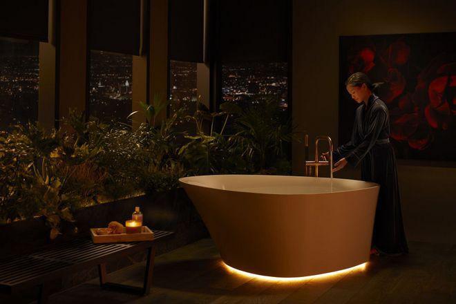 Dạo quanh phòng tắm hi-tech đỉnh cao cho các chị em: Điều khiển mọi thứ từ toilet đến gương bằng giọng nói - Ảnh 6.