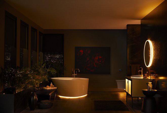 Dạo quanh phòng tắm hi-tech đỉnh cao cho các chị em: Điều khiển mọi thứ từ toilet đến gương bằng giọng nói - Ảnh 11.