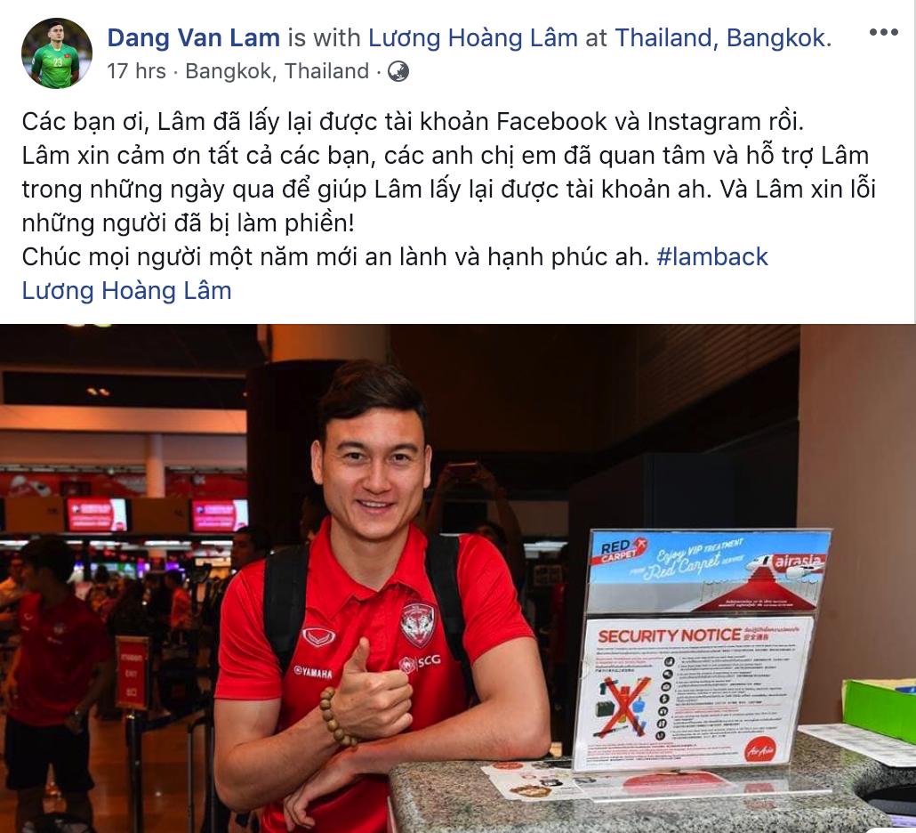 Văn Lâm sởn da gà vì được chăm sóc quá kỹ ở Muangthong United - Ảnh 3.