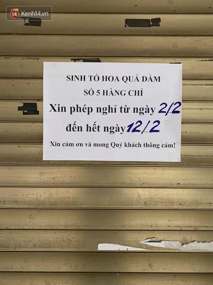 Hết Tết rồi mà vẫn còn nhiều quán xá ở Hà Nội chưa mở bán trở lại, có nơi nghỉ đến tận đầu tháng 3 - Ảnh 13.
