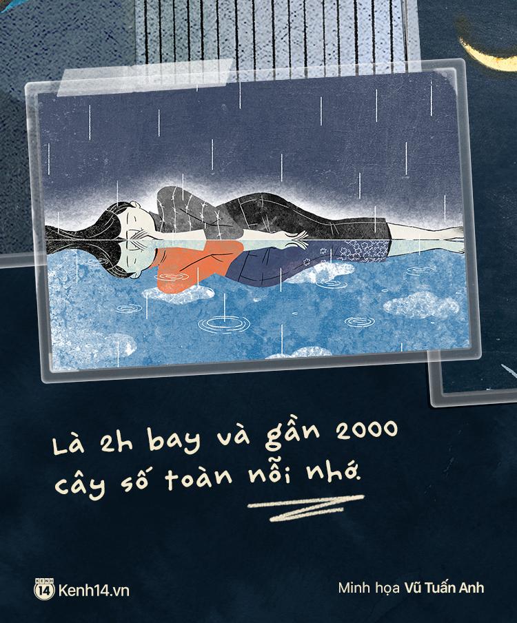 Sài Gòn, Hà Nội và những người yêu xa: Cách nhau 2h bay và gần 2000 cây số toàn thương với nhớ - Ảnh 1.
