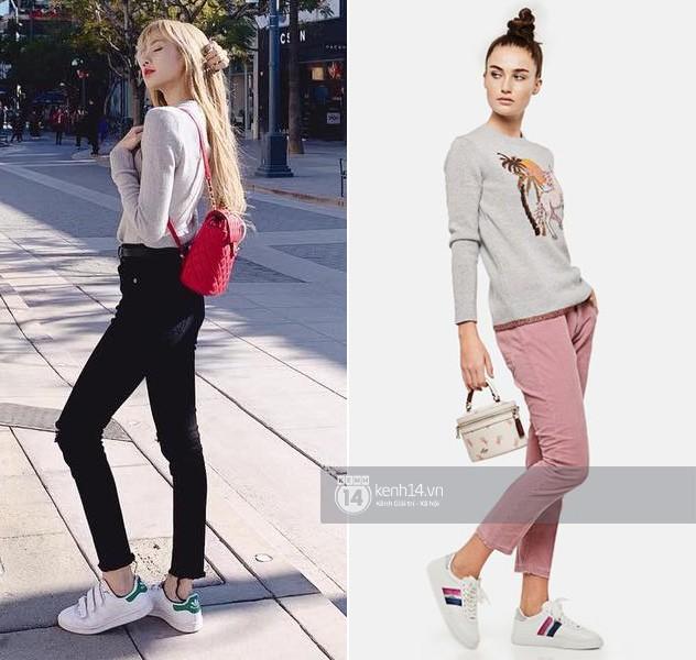 Khéo khoe chân dài eo thon thần thánh, Lisa còn mặc đẹp hơn người mẫu nhờ một chiêu hack dáng tuyệt hay - Ảnh 2.