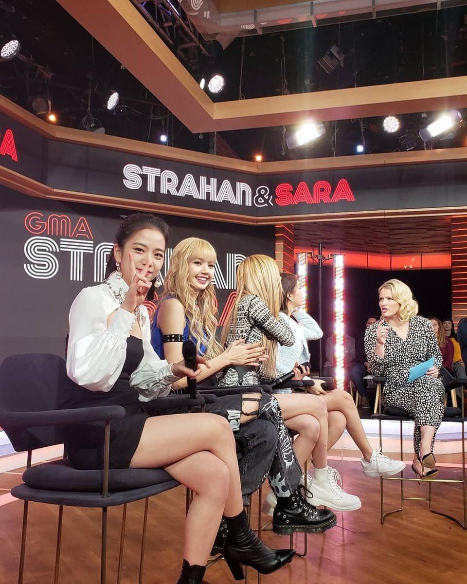 Lộ clip khán giả hát át cả tiếng Black Pink tại show chào buổi sáng hàng đầu ở Mỹ - Ảnh 6.