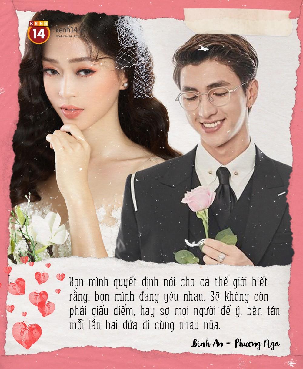 Phỏng vấn cặp đôi mới Vbiz Bình An - Phương Nga: Sự thật về tin đồn đám cưới vào tháng 9/2019 - Ảnh 3.