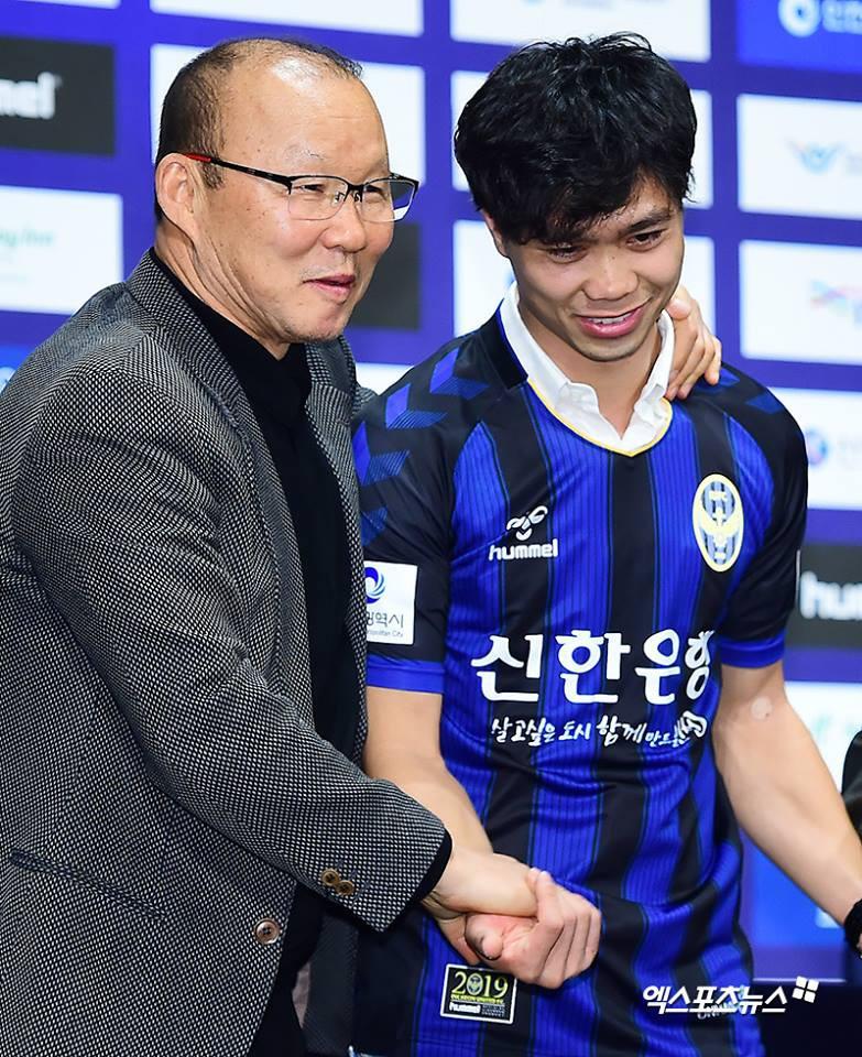 HLV Park Hang-seo không ngần ngại đánh giá cao cậu học trò ở đội tuyển Việt Nam. Ảnh: Incheon United.
