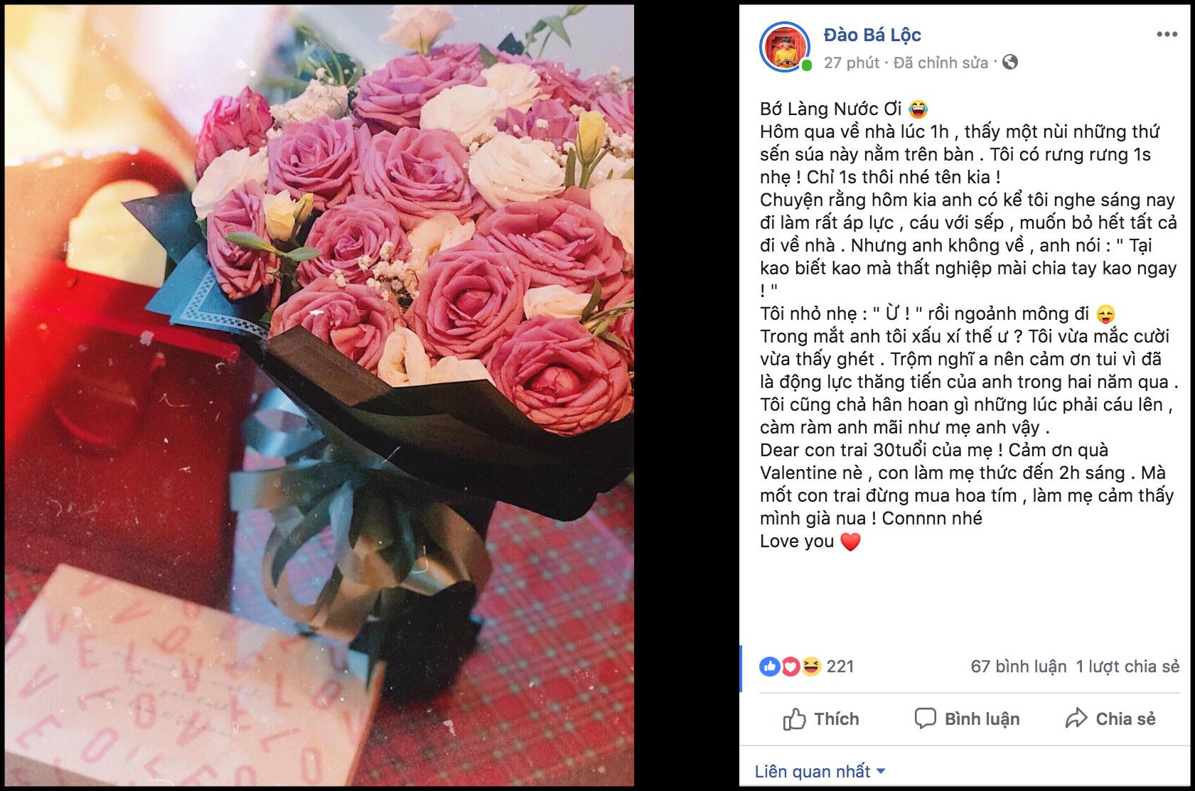 Sao Việt háo hức khoe quà lãng mạn, công khai điều đặc biệt trong ngày Valentine - Ảnh 8.