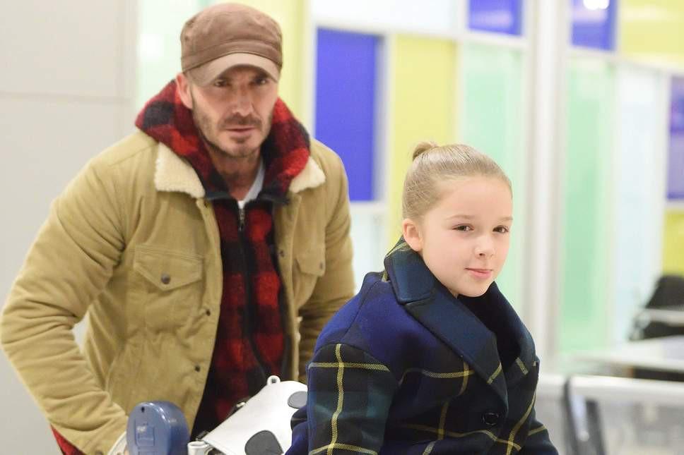 David Beckham không vui vì Harper mới 7 tuổi mà đã nhận được thứ này vào dịp Valentine! - Ảnh 2.