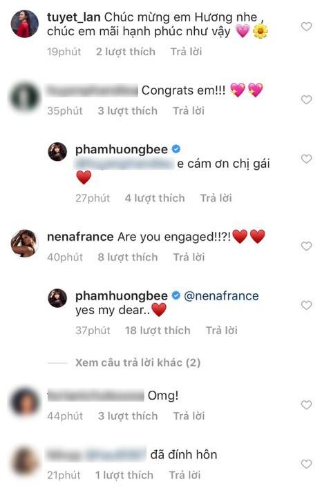 HOT: Phạm Hương đeo nhẫn kim cương ngón áp út, chính thức xác nhận đã đính hôn ngày 14/2 - Ảnh 2.