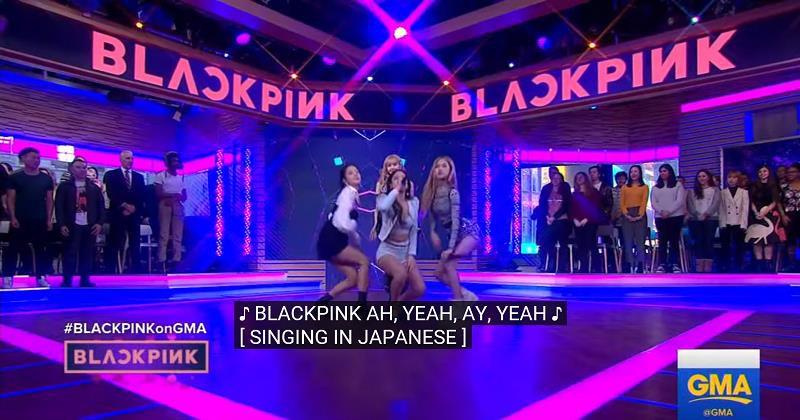"""Đài truyền hình Mỹ bị """"ném đá"""" dữ dội khi để phụ đề Black Pink hát tiếng Nhật - Ảnh 2."""