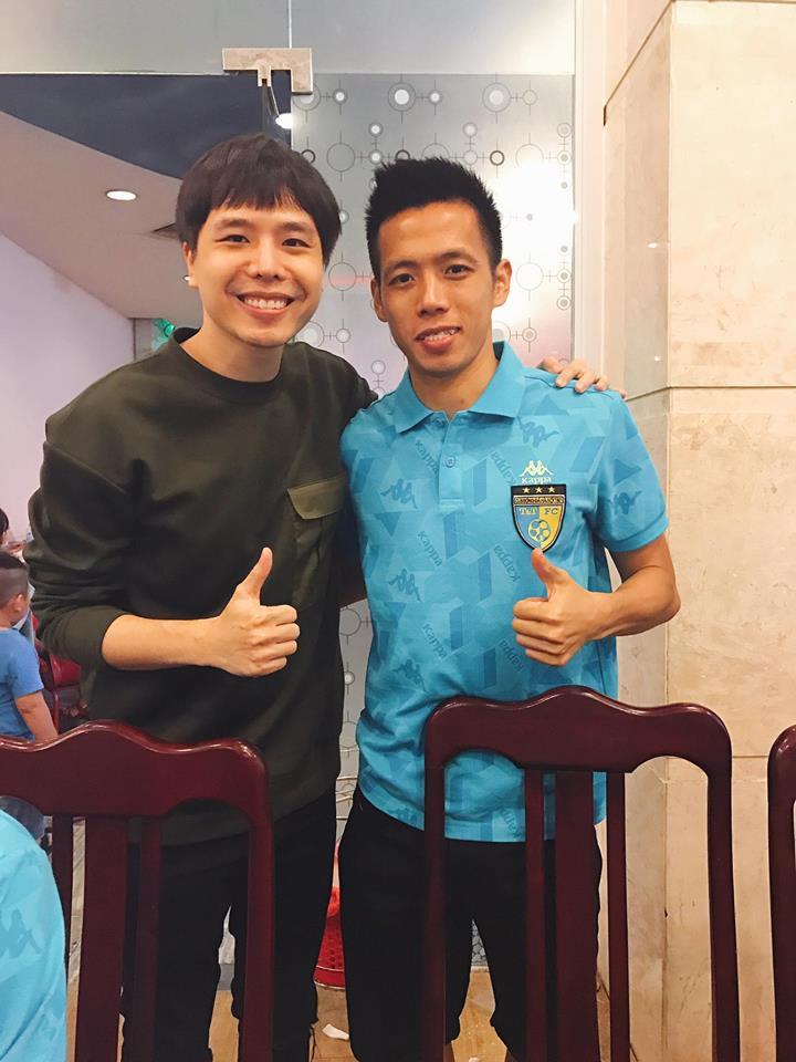 Mối quan hệ đặc biệt giữa Trịnh Thăng Bình với Duy Mạnh, Quang Hải và dàn tuyển thủ Việt đang hot nhất trên sân cỏ - Ảnh 9.