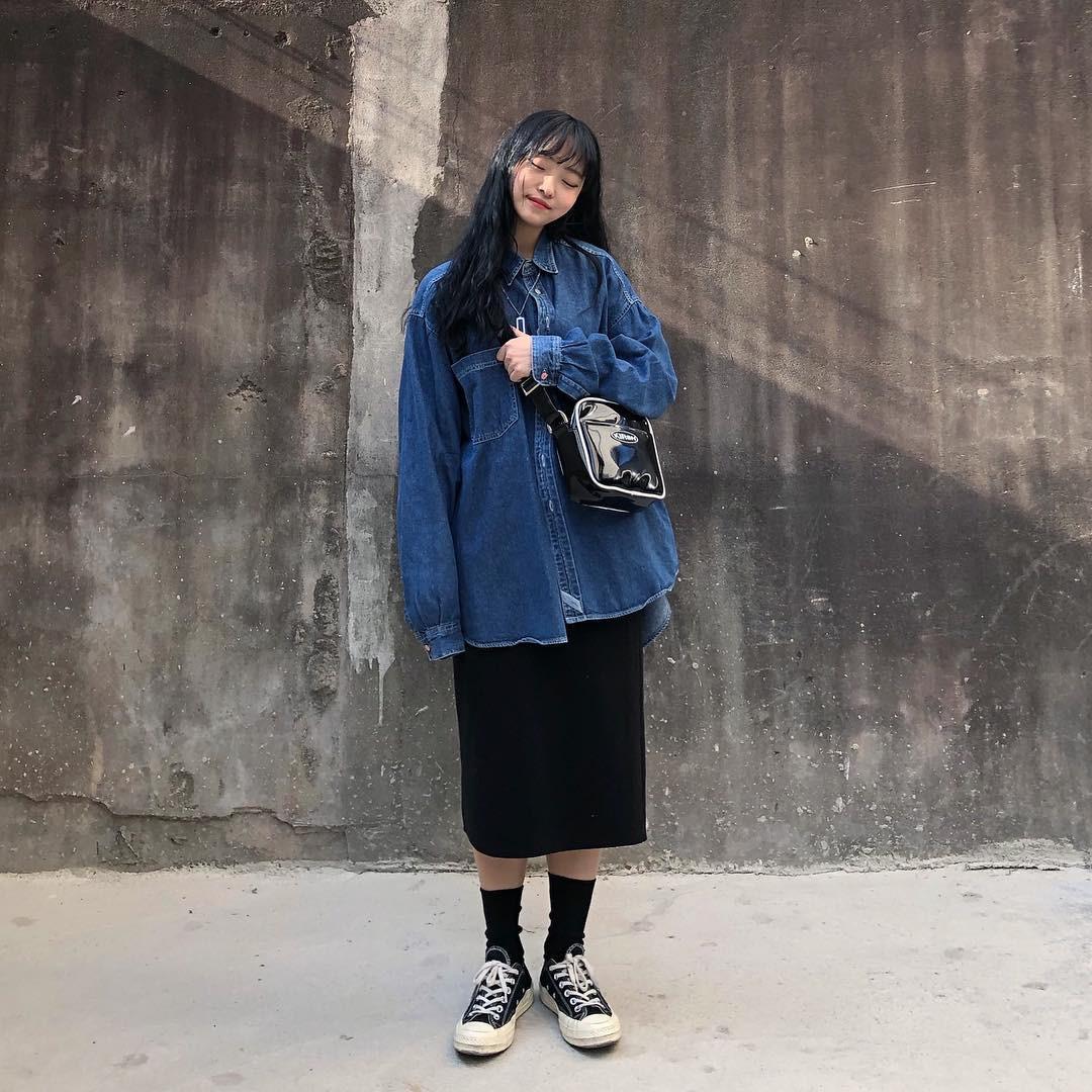Street style giới trẻ Hàn tuần qua đẹp, chất quá mức quy định, không tham khảo để lên đồ chụp ảnh sống ảo thì hơi phí - Ảnh 2.