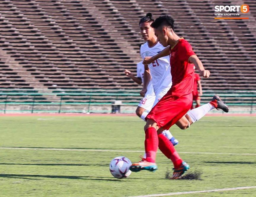 U22 Việt Nam 2-1 U22 Philippines: Lội ngược dòng trước Philippines, tuyển Việt Nam có chiến thắng đầu tiên trong lịch sử tại giải U22 ĐNA - Ảnh 2.