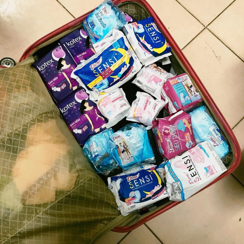 Chuyện thật như đùa: Du học sinh Việt nhét đầy vali toàn Băng vệ sinh, mỳ tôm để quay lại trường sau Tết - Ảnh 6.