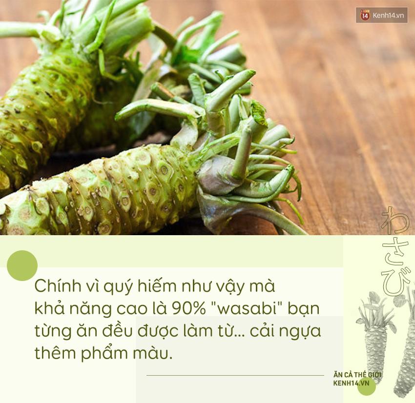 Sự thật đằng sau wasabi: thứ gia vị tưởng chừng như bình dị nhưng lại quý đến mức được người Nhật dùng để nộp thuế thay vàng - Ảnh 2.