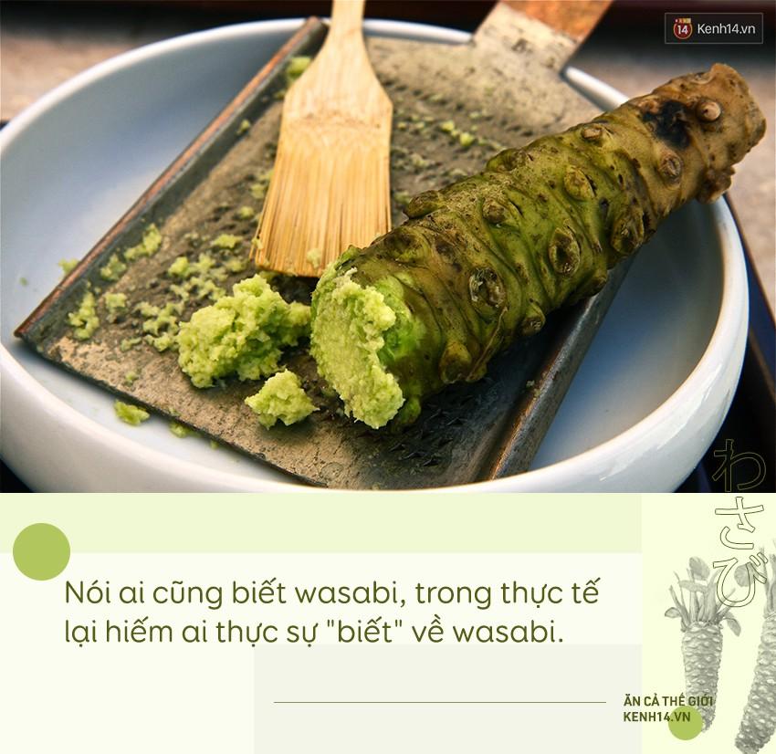 Sự thật đằng sau wasabi: thứ gia vị tưởng chừng như bình dị nhưng lại quý đến mức được người Nhật dùng để nộp thuế thay vàng - Ảnh 1.
