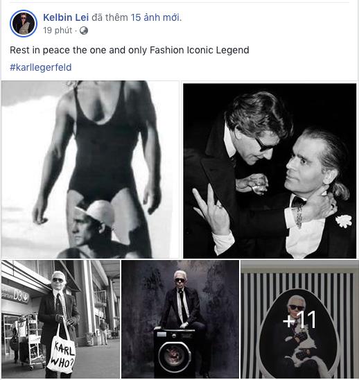 Hoa hậu Mai Phương Thuý, Á hậu Phương Nga và nhiều NTK, stylist thương tiếc trước sự ra đi của huyền thoại thời trang Karl Lagerfeld - Ảnh 4.
