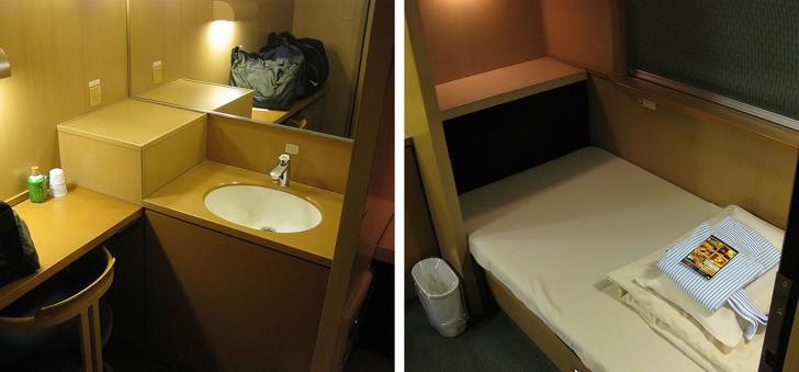 Tàu hỏa xuyên đêm ở Nhật Bản: Bên ngoài cũ kĩ đơn sơ, bên trong nội thất tiện nghi bất ngờ - Ảnh 11.