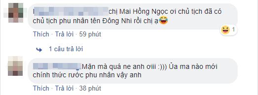 Đông Nhi thả thính theo trào lưu chủ tịch đang hot nhưng câu trả lời của Ông Cao Thắng mới khiến fan phát sốt - Ảnh 3.