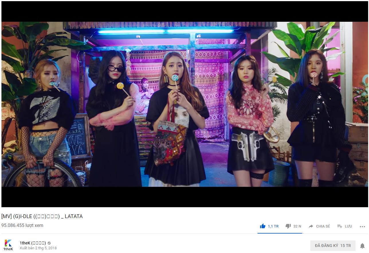 MV debut đạt trăm triệu view, tân binh máu mặt nào của năm 2018 vừa lập thành tích ngang cơ TWICE và BLACKPINK? - Ảnh 1.