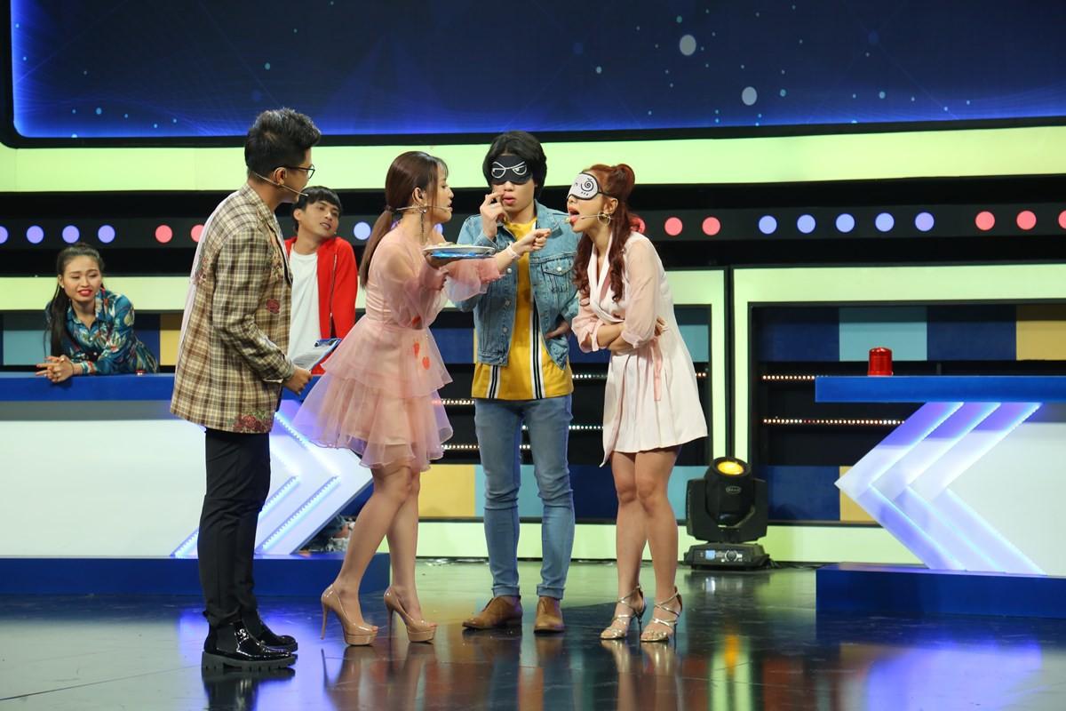 Hồ Quang Hiếu không chỉ lanh chanh mà còn làm đồng đội bị thương khi chơi gameshow - Ảnh 2.