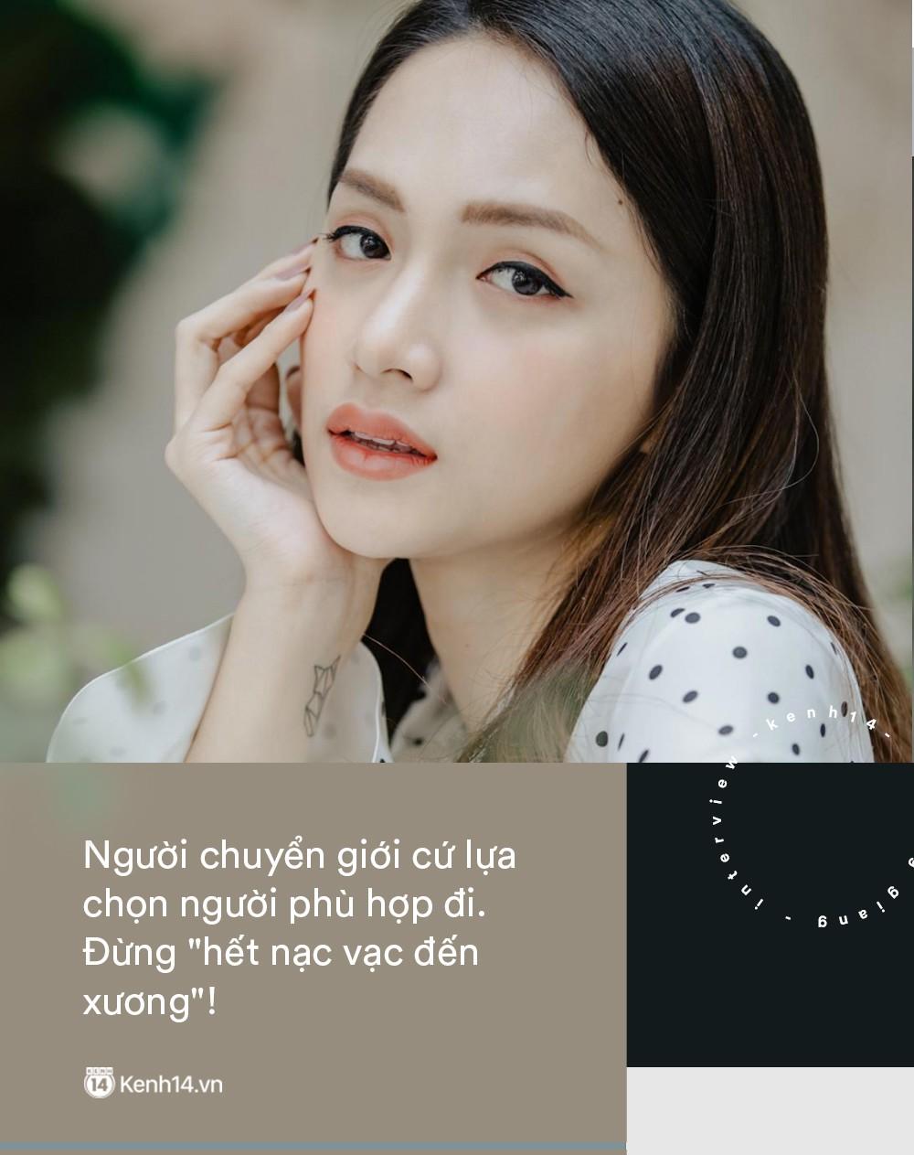 Hoa hậu Hương Giang: Người chuyển giới cứ lựa chọn người phù hợp đi. Đừng hết nạc vạc đến xương! - Ảnh 8.
