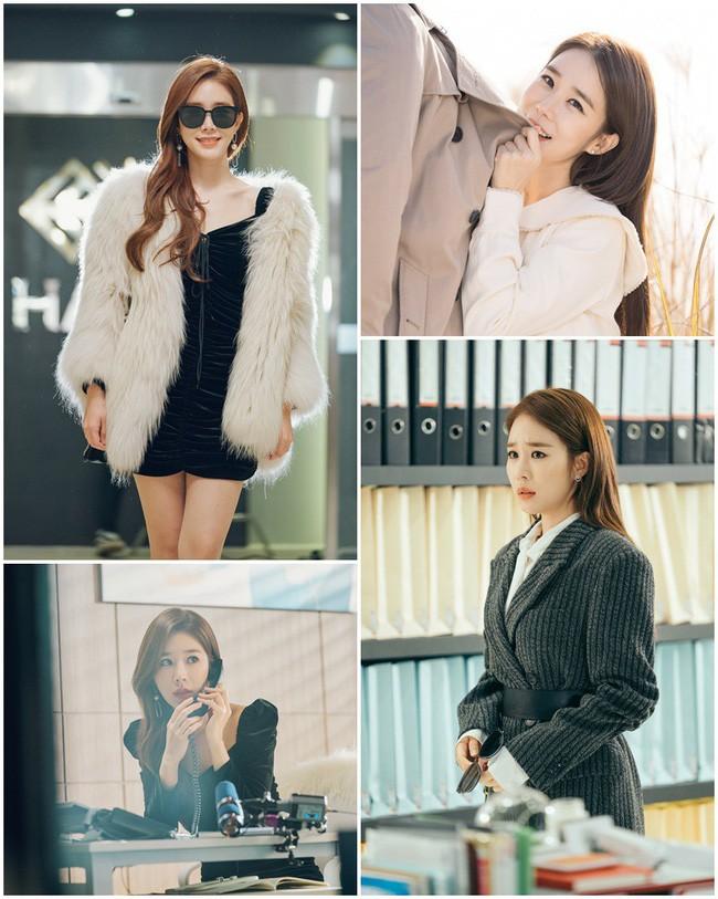 Trở thành thư ký của Lee Dong Wook, Yoo In Na mặc đẹp và sang chảnh tới mức biến công sở thành sàn diễn trong Chạm vào tim em - Ảnh 1.